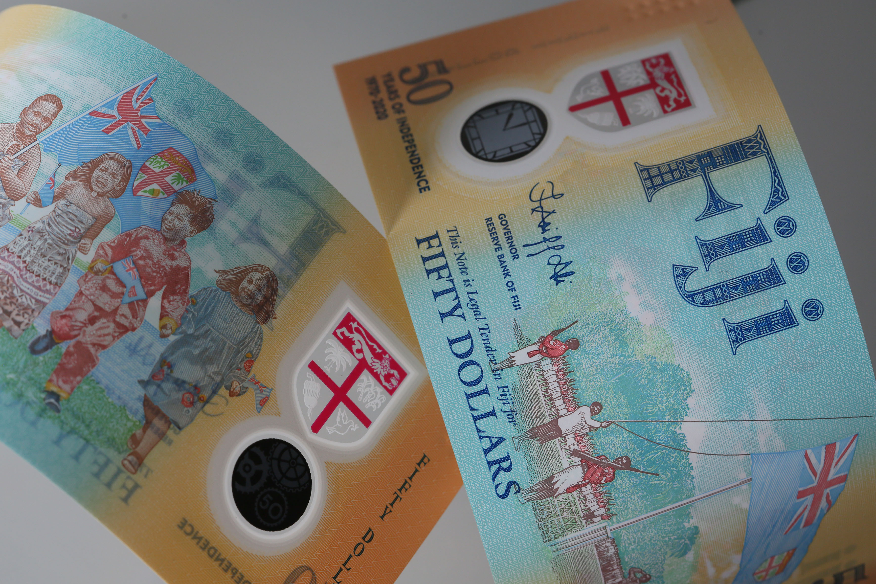 Fiji Launches Banknotes, Coins to Commemorate 50th Year of Independence