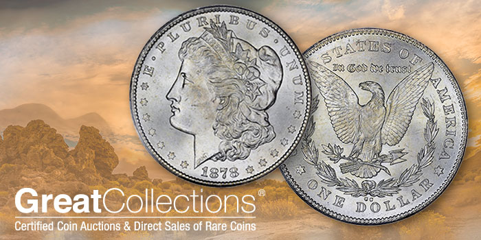 Gem 1878 Carson City Morgan Silver Dollar Offered at GreatCollections