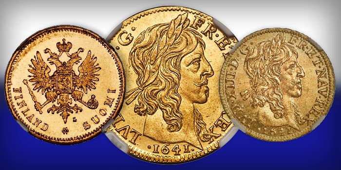 The Caranett Collection Part III - Gold Coins of Western Europe & Britain