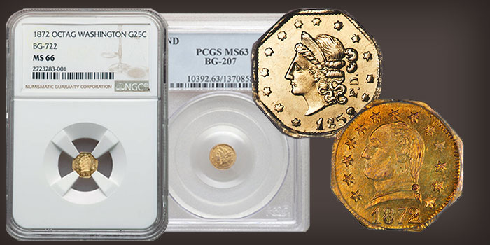 California Fractional Gold October 22 Heritage Auction Open for Bidding