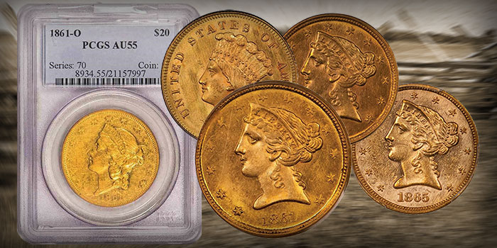Final Offerings From BigMo Civil War Collection Highlight Legend Regency Auction 42