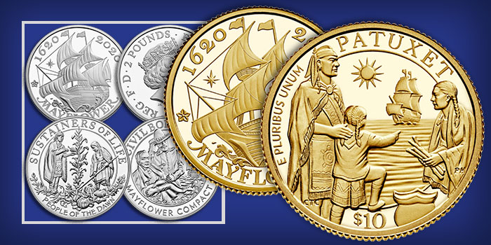 United States Mint Announces Mayflower 400th Anniversary Program Products