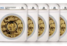 NGC Certifies Five Gigantic 5 Kilogram Gold Show Pandas