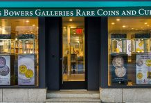 Stack's Bowers Galleries announces its new flagship New Yrok City store