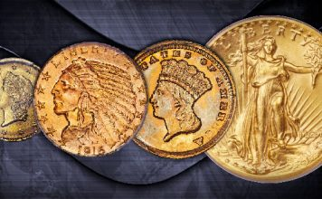 US Gold Coins of the Bob Simpson Collecction