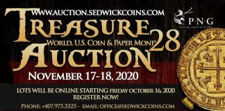 Daniel Frank Sedwick Treasure Auction 28 now online