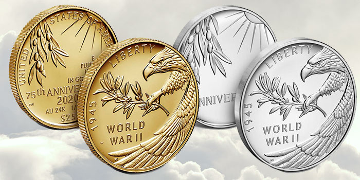 US Mint to Opens Sales for End of World War II 75th Anniversary Coins, Medal in November