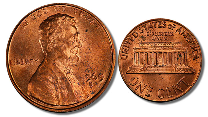 1969-S Lincoln Cent