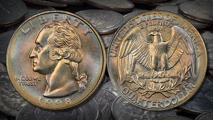 1998: The Last of the Heraldic Eagle Washington Quarters