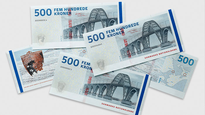 Denmark Issues New 500-Krone Banknote