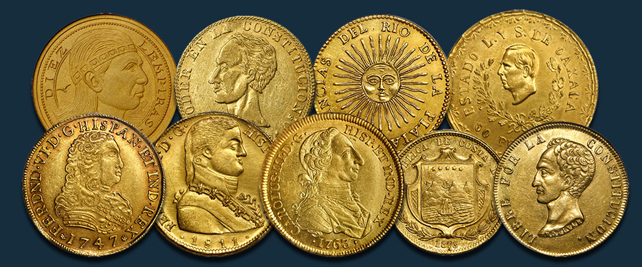 Stack's Bowers January 2021 Auction to Feature Oro del Nuevo Mundo Collection