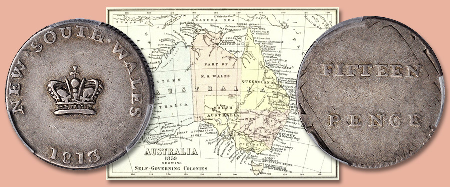 "The ""Dump"" and Australia's First Coinage - Stack's Bowers Jan. 2021 NYINC Auction"