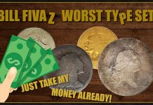 Stack's Bowers Offers Bill Fivaz's World's Worst Type Coin Set