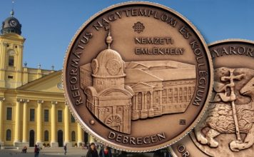 New Hungarian coin from Coin and Currency Institute