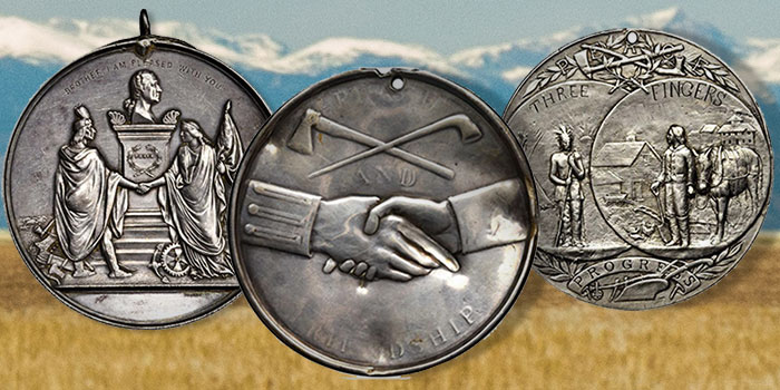 Larry Ness Indian Peace Medals Brings Over $900,000 at Stack's Bowers Nov. Auction