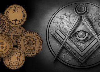 Freemason Mark Pennies