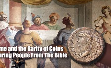 Salome and the Rarity of Coins Featuring People From The Bible - By Mike Beall