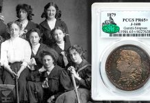 1879 silver Schoolgirl dollar one highlight of Heritage Auction's sale of Important Selections from the Bob R. Simpson Collection of US Coins, Part II