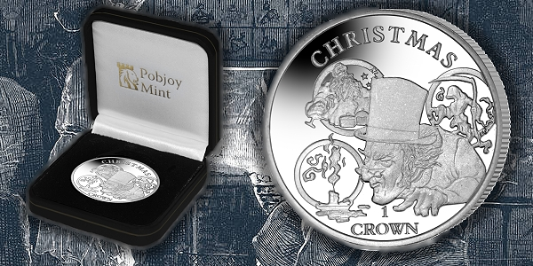 A Christmas Carol from the Pobjoy Mint