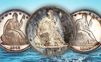 David Lawrence Rare Coins Offers #1 PCGS Registry Set of Proof Seated Liberty Half Dollars
