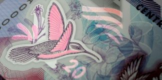 Trnidad and Tobago has issued new polymer banknote denominations