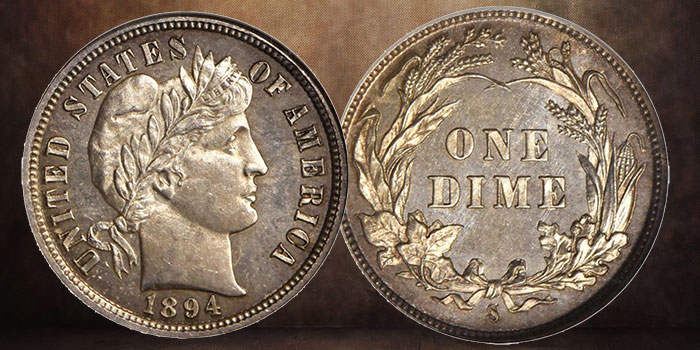 NGC-Certified 1894-S Barber Dime Set to Sell for Seven Figures in Stack's Bowers Sale