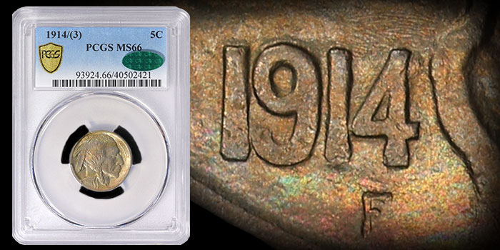 Top Pop CAC 1914/3 Buffalo Nickel Offered by GreatCollections