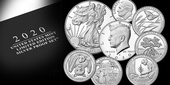 United States Mint 2020 Limited Edition Silver Proof Set Avail. Dec. 10