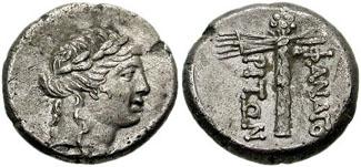Figure 10: Cimmerian Bosporos, Phanagoria, AR drachm