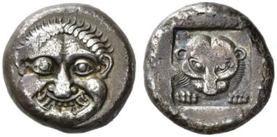 Athens.  Wappenmünzen series.  AR Tetradrachm.