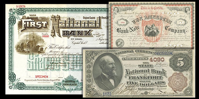 Archives International Auction 63 of Stocks, Bonds, and World Banknotes