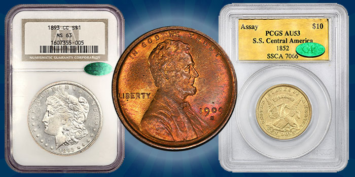 Last David Lawrence Rare Coins Onine Auction for 2020 Now Online