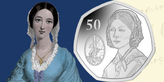 New 50p Coin Celebrates Bicentenary of Florence Nightingale's Birth