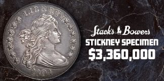 Over $17.8 Million in U.S. Coins Sold in Stack's Bowers Dec. 2020 Showcase Auction