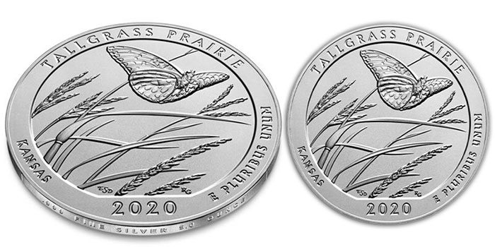 Final 2020 America the Beautiful 5 oz Silver Coin Released Today