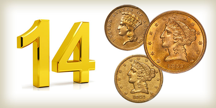 14 Undervalued Classic Gold Coins From the Philadelphia Mint