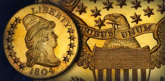 PCGS-Graded 1804 Draped Bust Eagle Takes $5.28 Million at Heritage Auction