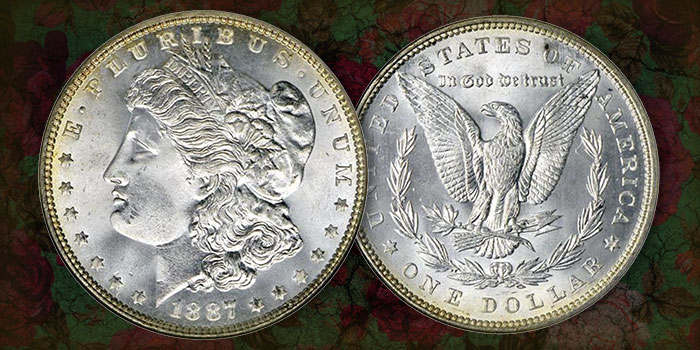 United States 1887 Morgan Silver Dollar