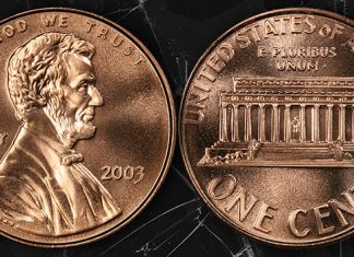 United States 2003 Lincoln Cent