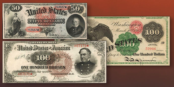 Stack's Bowers Galleries Auctions 9 of Top 10 United States Banknotes in 2020
