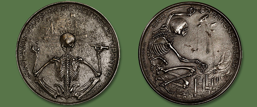 "The Macabre ""Totentanz"" Medal Series of Walther Eberbach - Stack's Bowers Auctions"