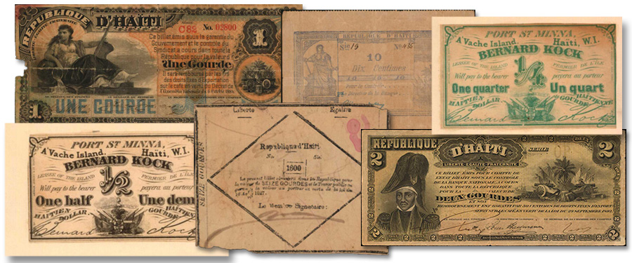 Large Assortment of Haitian Notes to Highlight Stack's Bowers Galleries January 2021 Auction