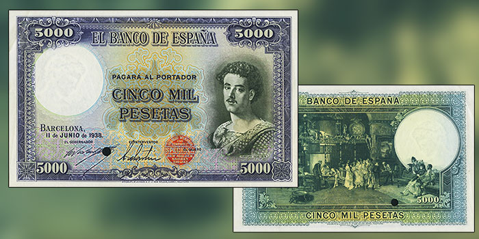 Heritage Offers Cid-Pulido Collection of Spanish Banknotes in FUN Auction
