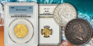 1902-O Barber Half, 1934 Peace Dollar Among Highlights at David Lawrence Sale