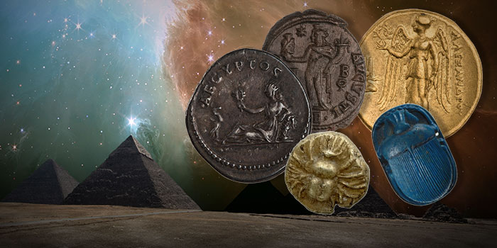 Images and Symbols of Egyptian Gods on Ancient Coins