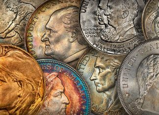 Classic Commemoratives Offered in Special Month-Long Heritage Auction