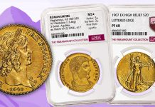 NGC Certifies Paramount Collection of Large-Format Gold Coins