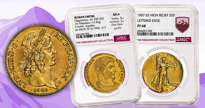 The Paramount Collection: Finest World Coin Offering Ever From Heritage Auctions