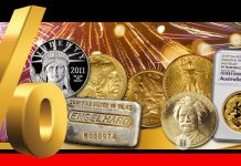Bid by Percentage in the Stack's Bowers Jan. 2021 Precious Metals Auction