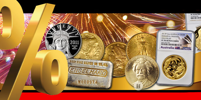 Bid by Percentage in the Stack's Bowers April 2021 Precious Metals Auction